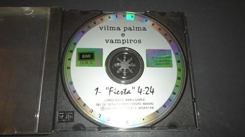 vilma palma e vampiros - fiesta * cd single promocional usa