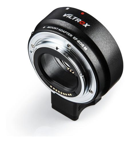 viltrox auto focus ef-eos m mount - adaptador de montura de