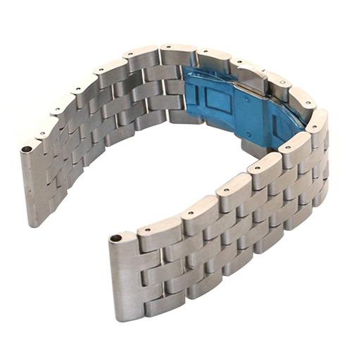 vimvip ® 22mm reemplazo metal inoxidable acero pulsera relo