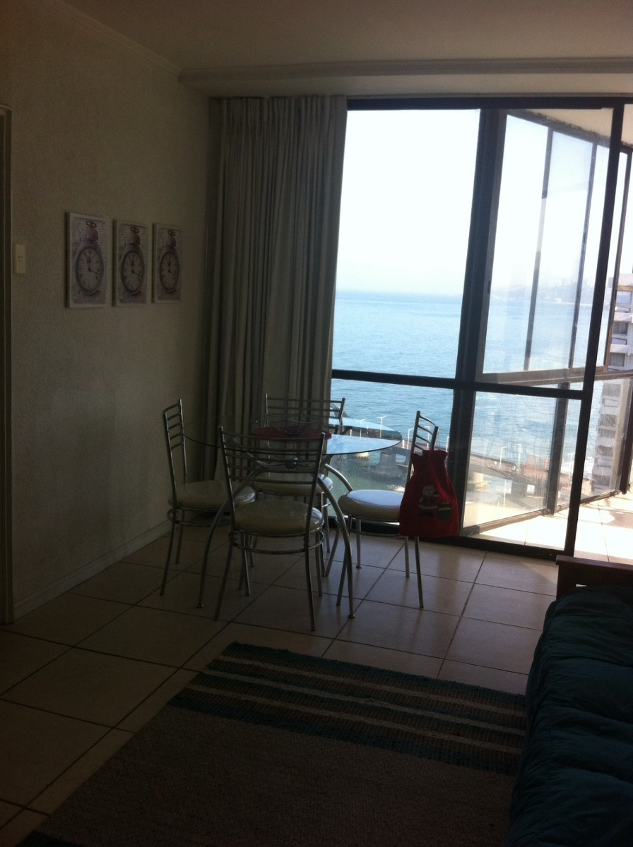 viña del mar bajada directa playa acapulco 2 dormit, 2 baños
