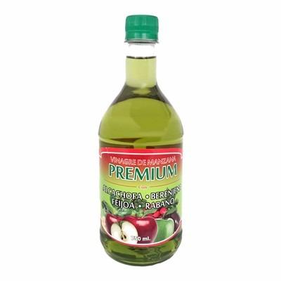 vinagre de manzana premium 750m alcachofa, berenjena, feijoa