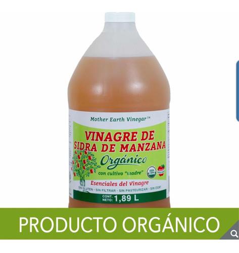 vinagre de sidra manzana orgánico