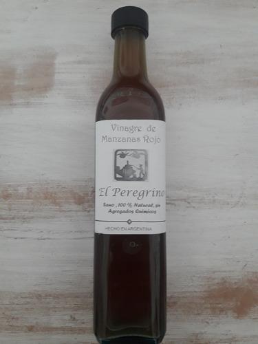 vinagre orgánico manzana o sidra, con la madre envio gratis