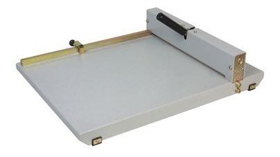 vincadeira de papel manual em aço oficio 36cm até 8 folhas