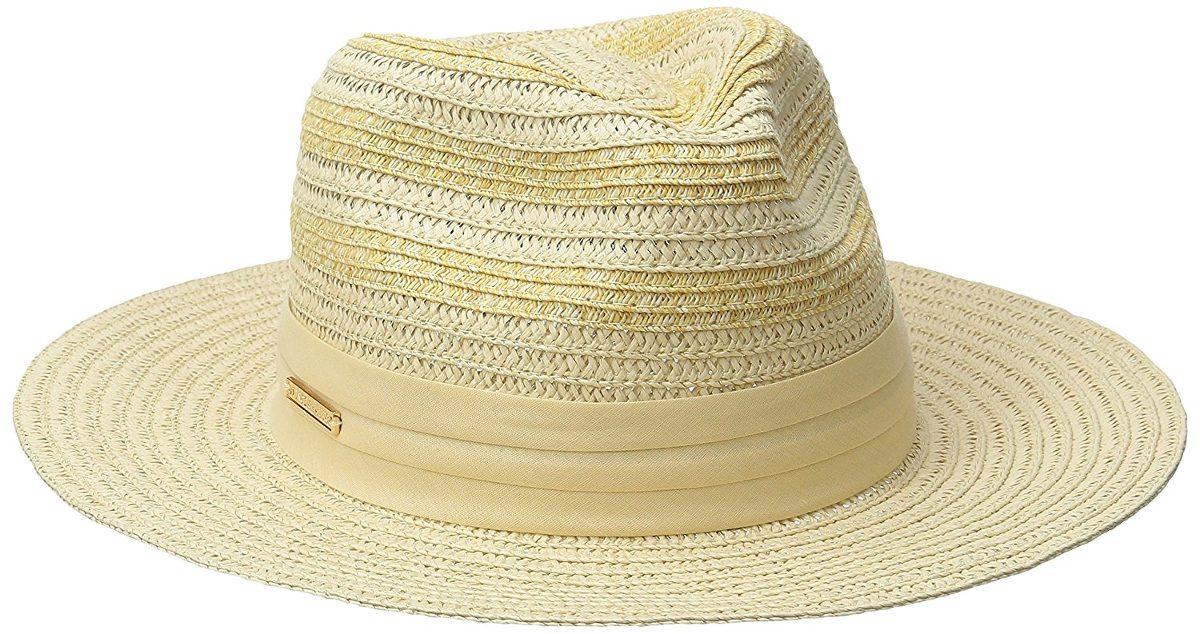 Vince Camuto Women s Striped Fedora Hat -   779.15 en Mercado Libre a1874596562