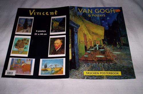 vincent van gogh cinco posters 31 x 44.impecables nuevos..