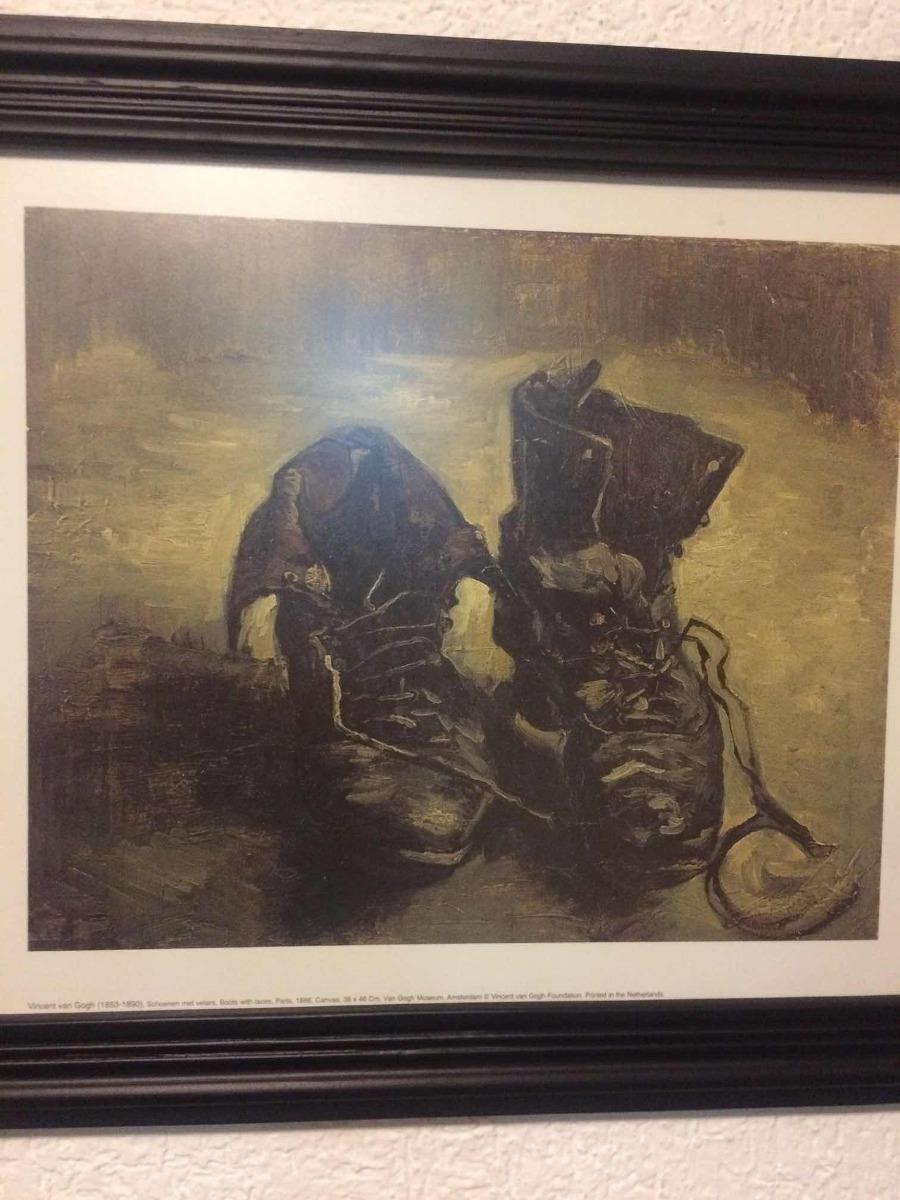 Vincent Gogh Marco 00 Van Viejos Madera350 Zapatos Reproducción LSjUqGzMVp