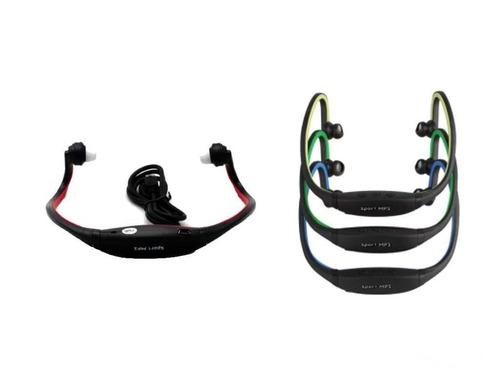 vincha auricular mp3 reproductor de mp3 deportivo- usb