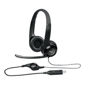 Vincha Logitech Usb Headset Microfono Call Center Alta Calid