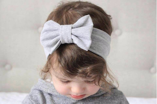 vinchas bebe algodón pima - accesorios para bebés y niñas