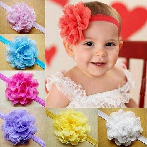 vinchas coronitas y turbantes para bebes y ninas importados