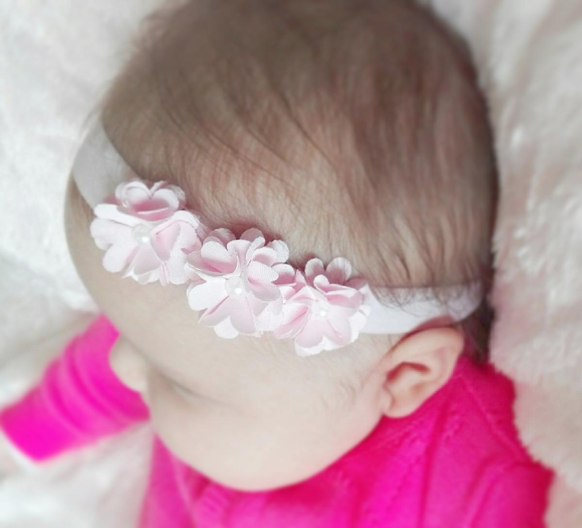 fa213e1a8 vinchas elásticas y accesorios - diademas para bebés y niñas. Cargando zoom.