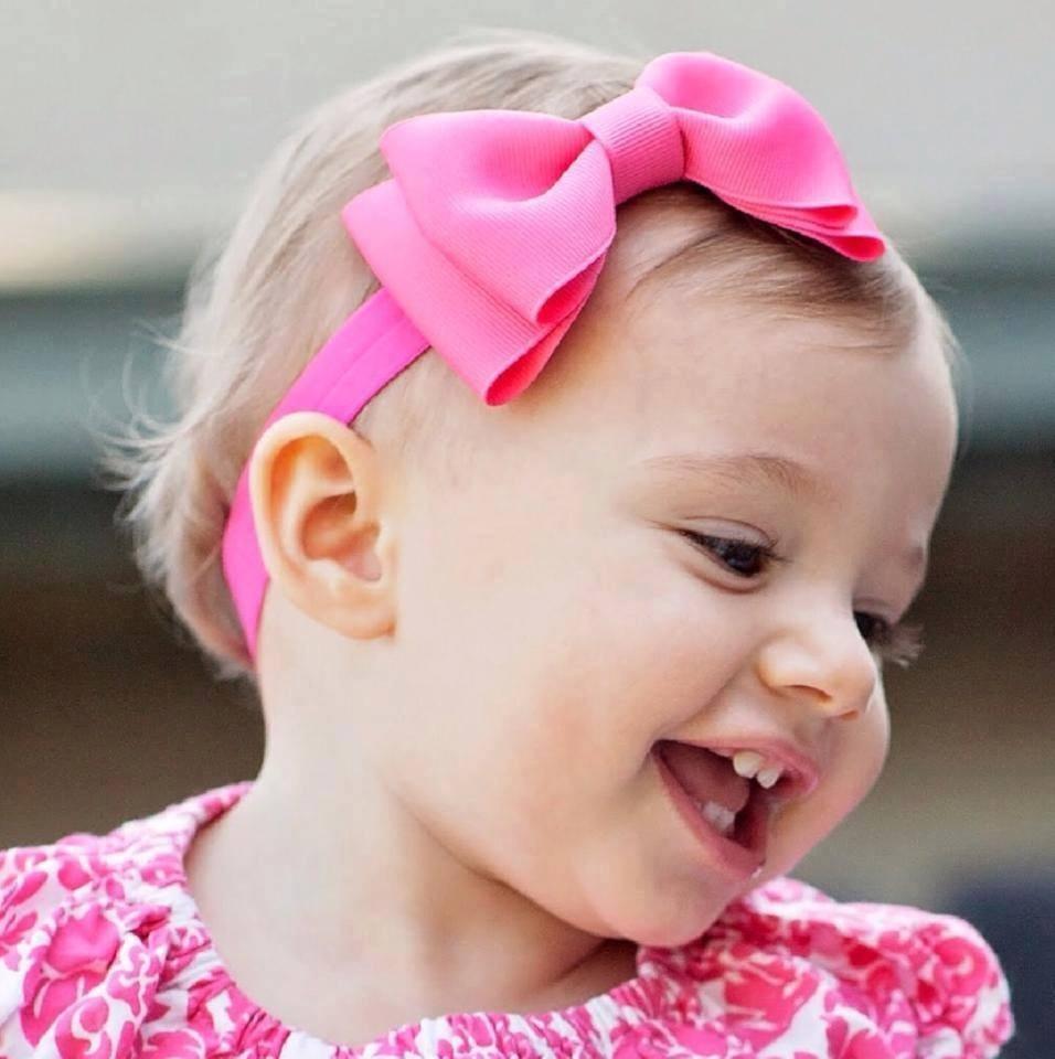 Vinchas el sticas y accesorios diademas para beb s y for Hacer diademas nina