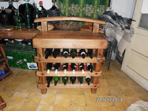 vinero bodega de madera roble único