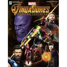 Vingadores Guerra Infinita Album +50 Pacotinhos Por R$ 55,90