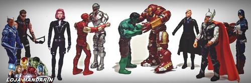 vingadores heróis bonecos