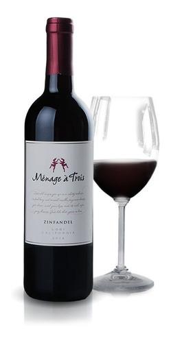 vinho americano trinchero menage a trois tinto 750ml