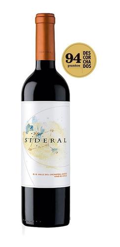 vinho chileno altair sideral cachapoal - 750ml