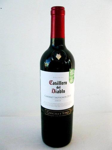 vinho chileno casillero del diablo concha y toro 750 ml