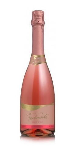 vinho espumante brut rose ferdinanda 750ml - frank