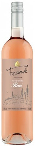 vinho fino rosé seco tempranillo 750ml - frank