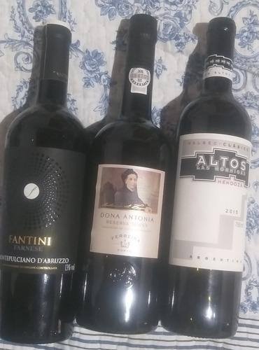 vinho importado dona antônia, fantini e altos las hormigas