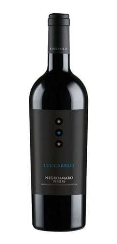 vinho italiano luccarelli negroamaro puglia 750ml