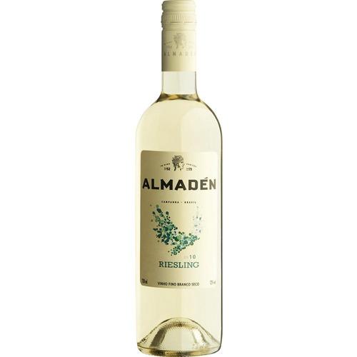 vinho nacional branco seco riesling  original 750ml almadén