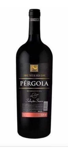 vinho pérgola suave 1l