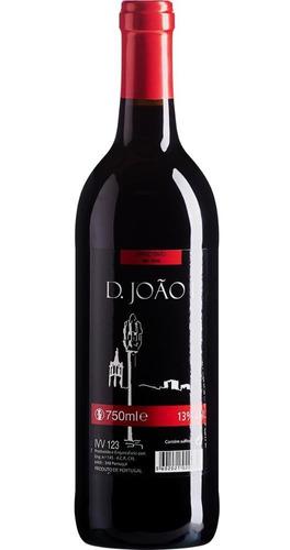 vinho português tinto d. joão i - 750ml - limite 4 unid