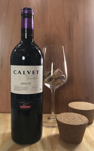 vinho tinto calvet varietals merlot