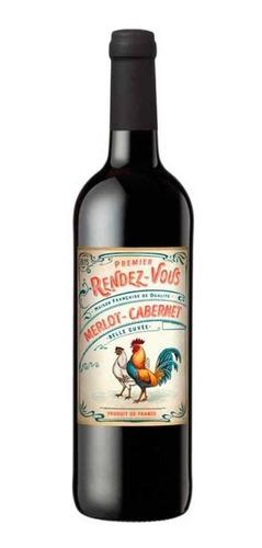 vinho tinto premier rendez-vous merlot cabernet 2017 750ml