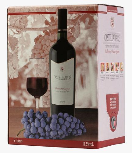 vinho tinto seco fino cabernet suavgnon  beg 5 lts