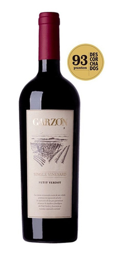 vinho uruguai garzón single vineyard petit verdot 750ml