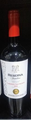 vinho uruguai montes toscanini cabernet  (reserva familiar)