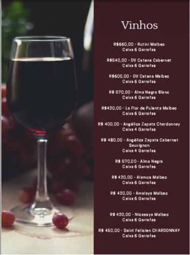 vinhos  e whisky importados