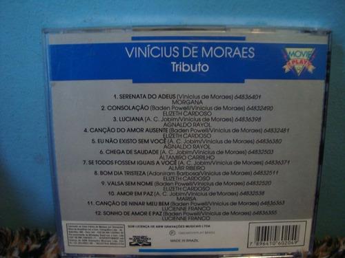 vinicius de moraes - tributo - cd nacional