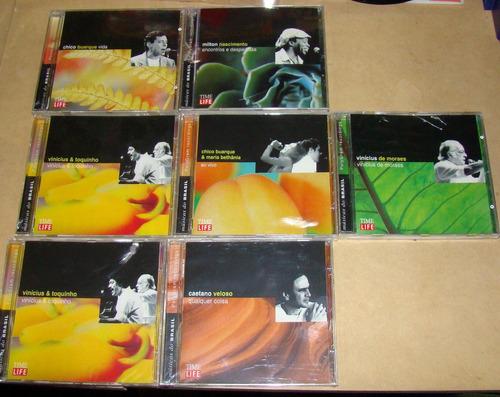 vinicius & toquinho, caetano veloso lote 6 cds nuevo  / kktu