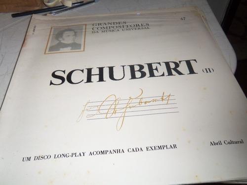 vinil  10´´  schubert  2 compositores  -  ref  254