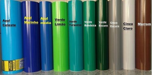 vinil adesivo 10m x 50cm p/ decoração, plotter, aeromodelo