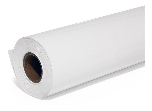 vinil adesivo bobina ploter jato tinta 91cmx20m branco fosco