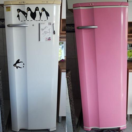vinil adesivo geladeira fogao moveis / envelopamento 6m x 1m