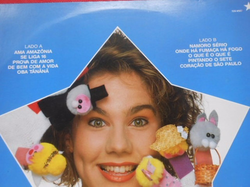 vinil andréa veiga lp 1990 paquita xuxa com encarte oferta