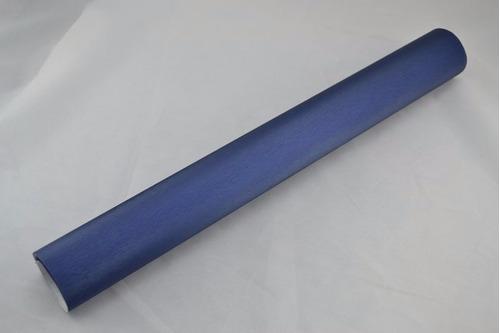 vinil automotriz cepillado azul marino brushed autoelite