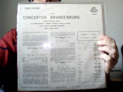 **vinil- bach -the brandenbourg concertos 1,2,3**