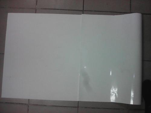 vinil blanco de 1.50 x metro