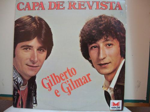 vinil capa de revista - gilberto e gilmar - 1983