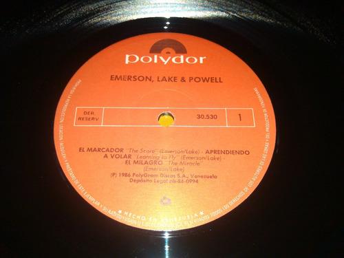 vinil clasico del rock nuevo emerson, lake & powell bs 14500