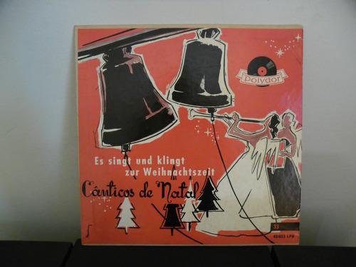 vinil cânticos natal, es singt und klingt zur weihnachtszeit