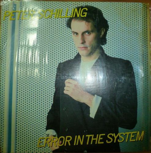 vinil coleccion peter schilling error in the system  14.900